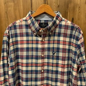 Men's long sleeve button down from American Eagle